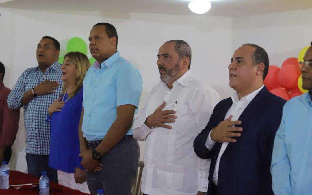 PRSC juramenta un centenar de personas de diferentes sectores del Distrito Nacional