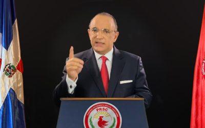 Carta del Presidente del PRSC Quique Antún al Presidente de la República Luis Abinader Corona.